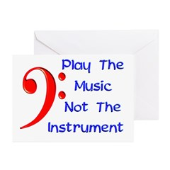 Play The Music Greeting Cards (Pk of 20)