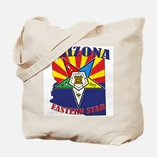 Arizona Flag Eastern Star Tote Bag