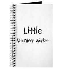 Little Volunteer Worker Journal
