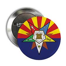 "Arizona Flag Eastern Star 2.25"" Button"