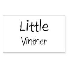 Little Vintner Rectangle Decal