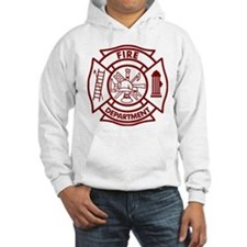 Firefighter Maltese Cross Hoodie