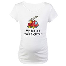 My Dad Is A Firefighter Shirt