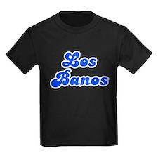 Retro Los Banos (Blue) T