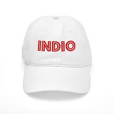 Retro Indio (Red) Baseball Cap