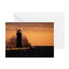 Cool Beach haven Greeting Card