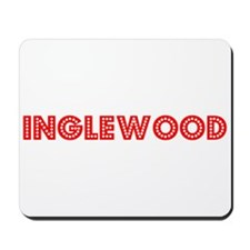 Retro Inglewood (Red) Mousepad