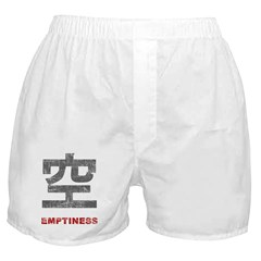 Chinese Character Emptiness Boxer Shorts