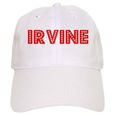 Retro Irvine (Red) Baseball Cap