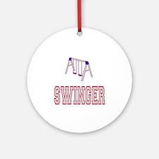 Swinger Ornament (Round)