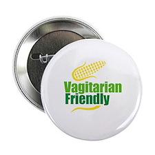 """Vagitarian friendly 2.25"""" Button"""