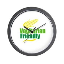 Vagitarian friendly Wall Clock