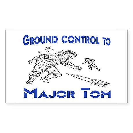 MAJOR TOM Sticker (Rectangle 50 pk)