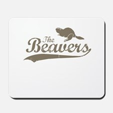 The Beavers Mousepad