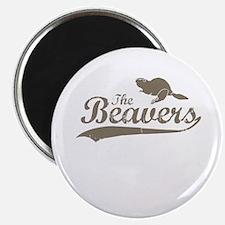 The Beavers Magnet