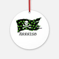 irish Round Ornament
