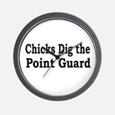 Unique Basketball chick Wall Clock
