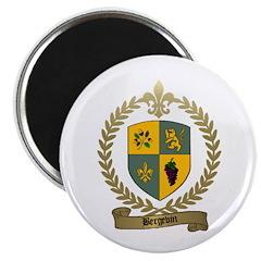 BERGEVIN Family Crest Magnet