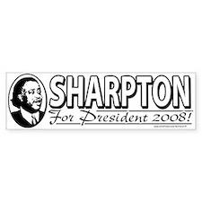 Al Sharpton For President 2008 Bumper Bumper Sticker