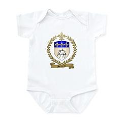 BELIVEAU Family Crest Infant Creeper
