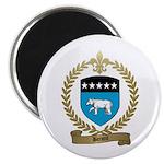 BENOIT Family Crest Magnet