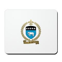 BENOIT Family Crest Mousepad