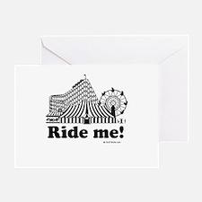 Ride me Greeting Card