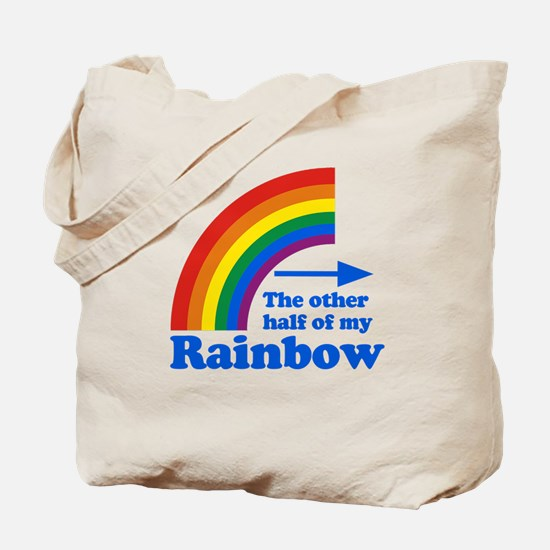 The other half of my rainbow Tote Bag