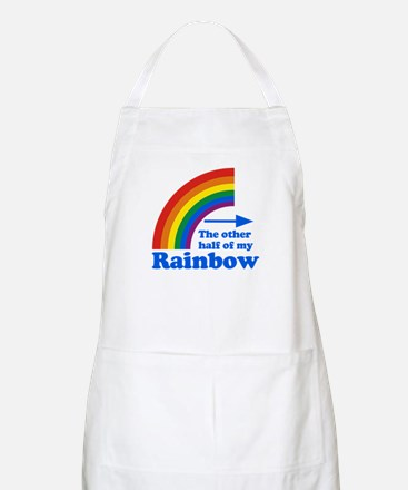 The other half of my rainbow BBQ Apron