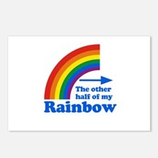 The other half of my rainbow Postcards (Package of
