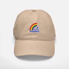 The other half of my rainbow Baseball Baseball Cap
