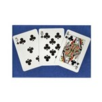 50th Gifts, 58 Queen! Rectangle Magnet (100 pack)