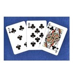 50th Gifts, 58 Queen! Postcards (Package of 8)