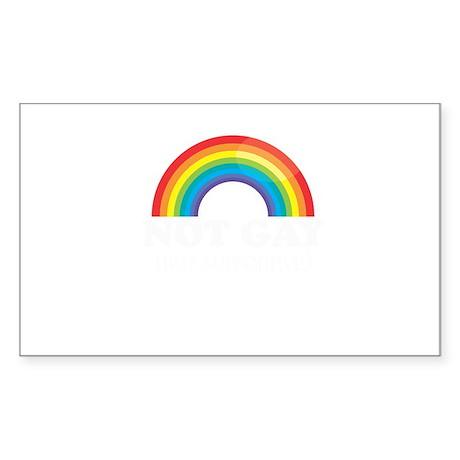 Gay Pride Rectangle Sticker