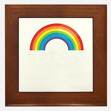 Gay Pride Framed Tile