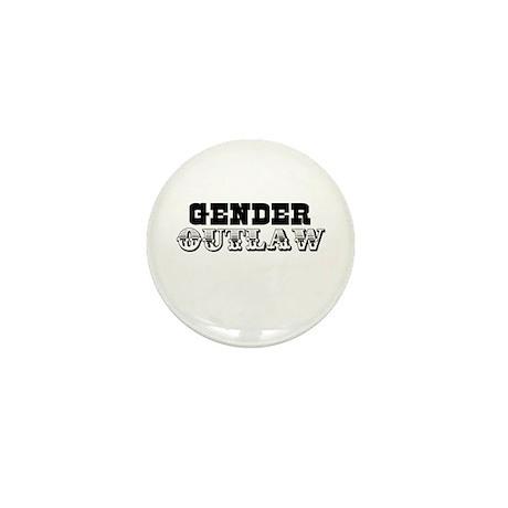 Gender outlaw Mini Button