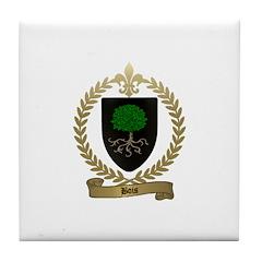 BOIS Family Crest Tile Coaster