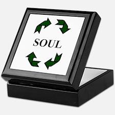 Recycled Soul Keepsake Box
