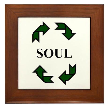 Recycled Soul Framed Tile