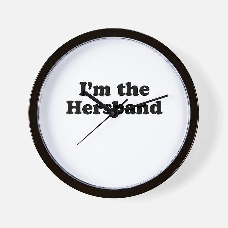 I'm the hersband Wall Clock