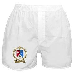 BOISVERT Family Crest Boxer Shorts