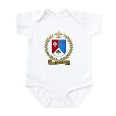 BOISVERT Family Crest Infant Creeper
