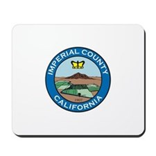 IMPERIAL-COUNTY-SEAL Mousepad