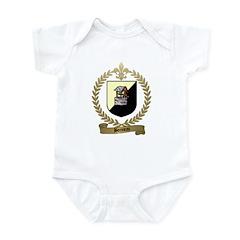 BONNEAU Family Crest Infant Creeper