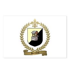 BONNEAU Family Crest Postcards (Package of 8)