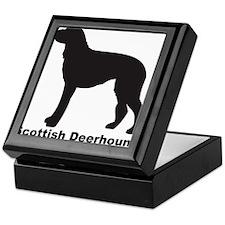 SCOTTISH DEERHOUND Tile Box