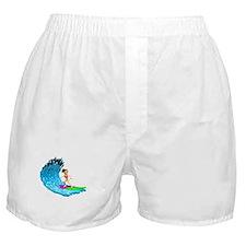 Surfer Girl Boxer Shorts