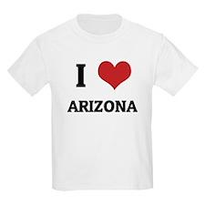 I Love Arizona Kids T-Shirt