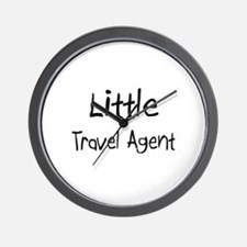 Little Travel Agent Wall Clock