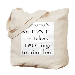 Two Rings Tote Bag